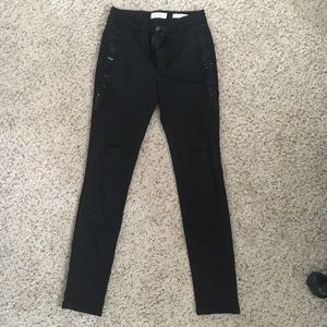 Jessica Simpson aviana highrise beaded black pants